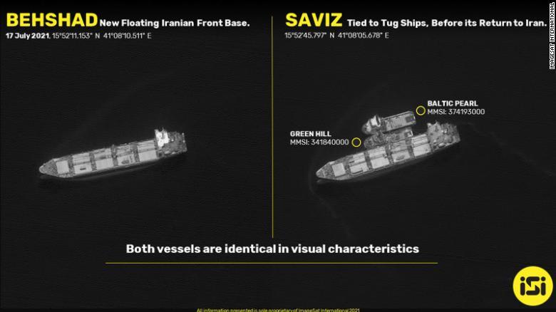 """مصدران لـCNN: إيران تستبدل سفينة تجسس في البحر الأحمر وسط """"صراع الظل"""" البحري"""