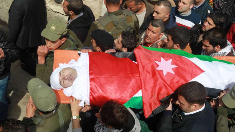 """تشييع القاضي الأردني في نابلس وشاهد عيان يروي تفاصيل """"اغتياله"""""""