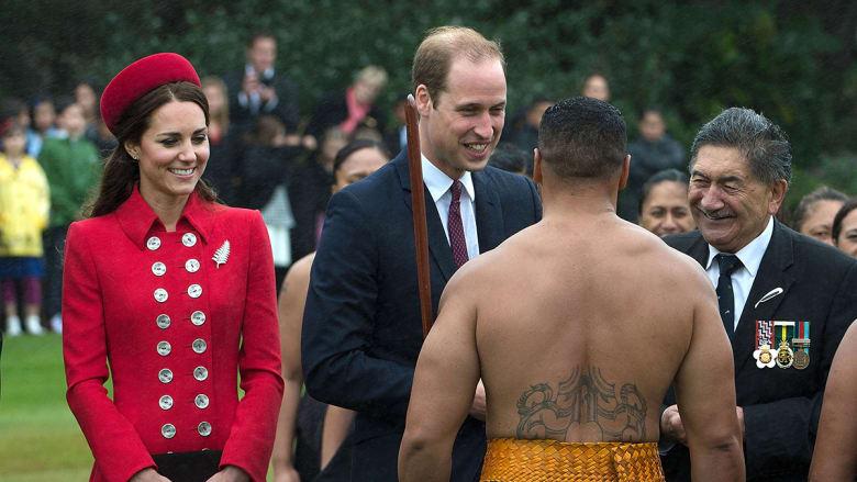 العائلة الملكية بجولة في نيوزيلندا واستراليا