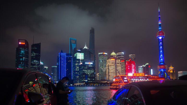 صورة ارشيفية للضاحية المالية في شانغهاي