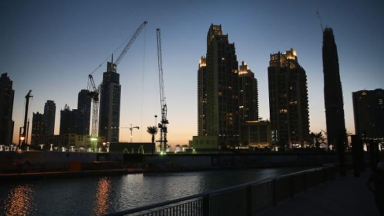 لقطة لمنطقة المارينا في دبي