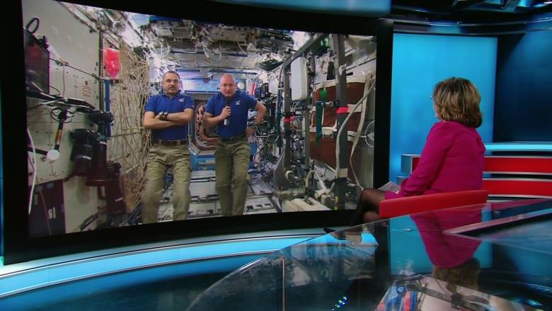 شاهد.. حوار خاص لـCNN مع أمريكي وروسي في محطة الفضاء الدولية حيث تتلاشى الخلافات السياسية