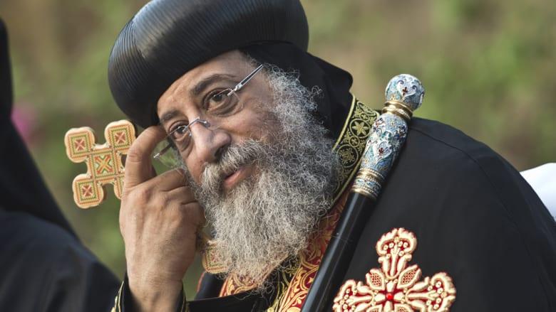 """البابا تواضروس بعد """"تعرية سيدة المنيا"""": القانون أولا ثم الصلح"""