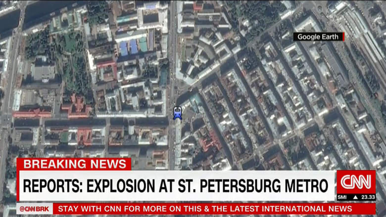 """المدعي العام الروسي يصنف تفجير سان بطرسبرغ """"هجوما إرهابيا"""""""