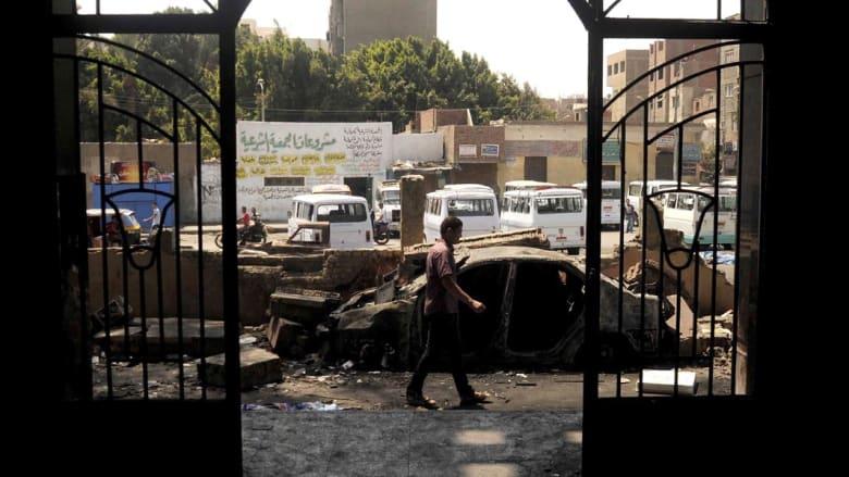 محكمة جنايات القاهرة تقضي بإعدام 20 متهماً بقضية اقتحام قسم شرطة كرادسة