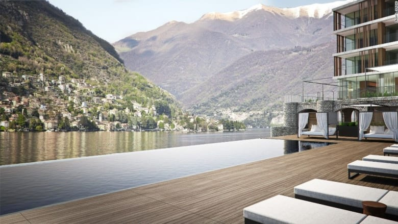 كيف ستشعر إذا غطست في بركة سباحة في جبال الألب السويسرية؟