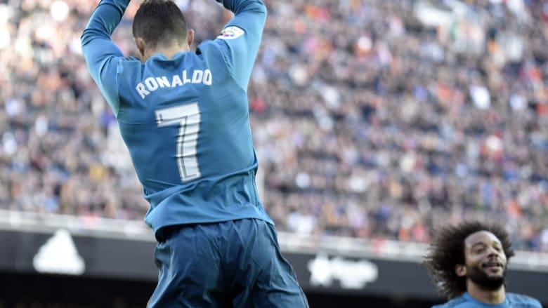 ريال مدريد يستعيد نغمة الانتصارات ورونالدو يسجل رقما مميزا
