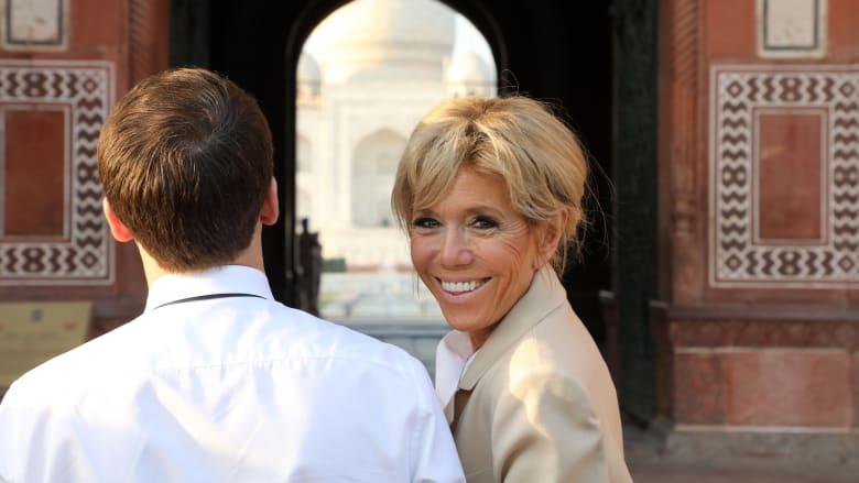 """الرئيس الفرنسي برفقة زوجته في """"جولة سياحية"""" بالهند"""