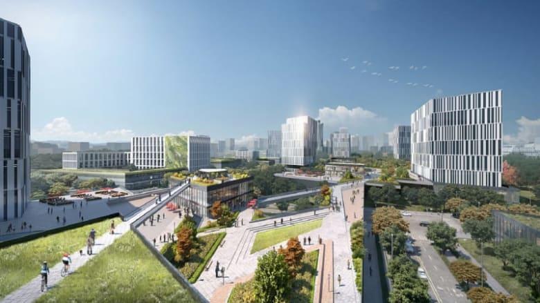 ستُخصص مساحات كبيرة من المدينة للمشاة للتقليل من التلوث المروري.