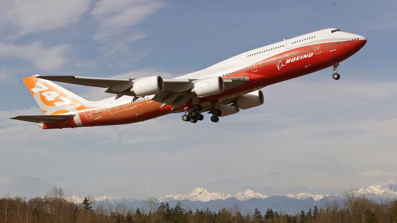 """طائرة """"بوينغ 747-8"""""""