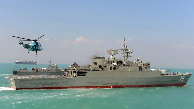 البحرية الإيرانية تعلن عن إرسال مدمرة وقطع أخرى للأطلسي بمهمة.. وهذه أهدافها