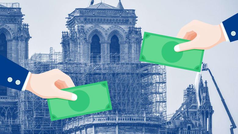 بعد خسائر حريق نوتردام.. من أبرز المتبرعين لإعادة بناء الكاتدائية؟