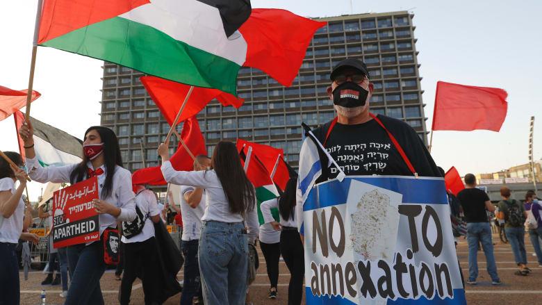مظاهرات في تل أبيب لرفض ضم الضفة الغربية.. وزعيم ميرتس: جريمة حرب ستكلفنا الدم