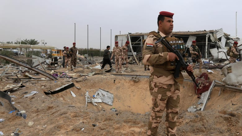 العراق.. قصف صاروخي في محيط مطار بغداد