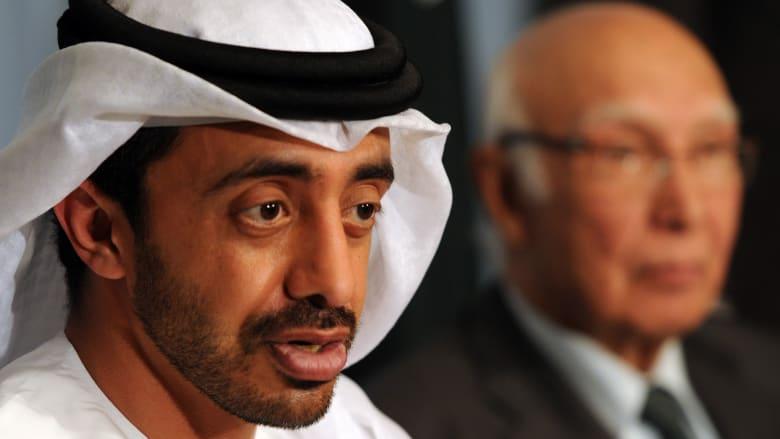 عبدالله بن زايد: معاهدة السلام مع إسرائيل لن يكون على حساب دعم القضية الفلسطينية