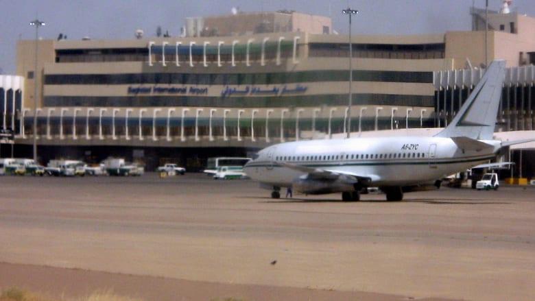 القوات المسلحة العراقية: 5 ضحايا بسقوط صاروخ على بيت قرب مطار بغداد الدولي