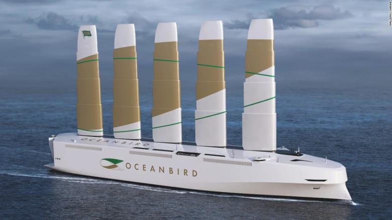 يمكن أن تحمل 7 آلاف سيارة.. السويد تخطط إطلاق أكبر سفينة تعمل بالرياح في العالم