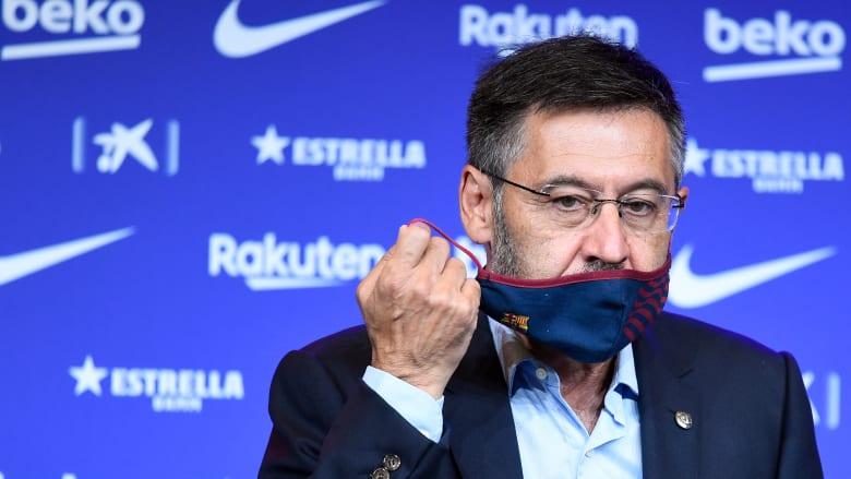"""قبل التصويت على """"حجب الثقة"""".. إدارة بارتوميو تستقيل رئاسة برشلونة"""
