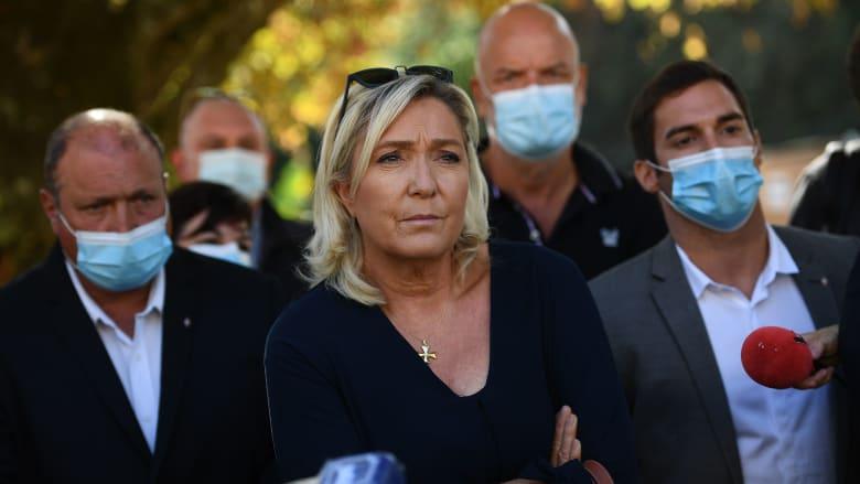 صورة ارشيفية للسياسيةالفرنسية مارين لوبان