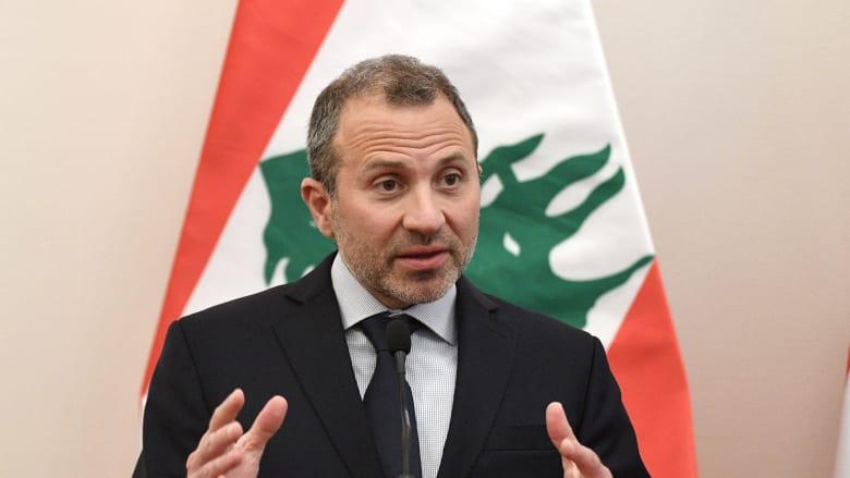 """""""تدخل فاضح"""".. حزب الله يدين عقوبات أمريكا على وزير خارجية لبنان السابق جبران باسيل"""