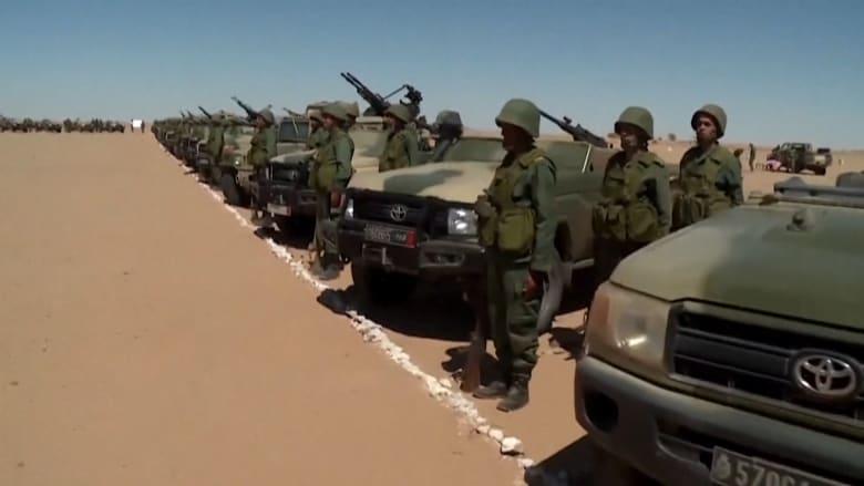 زعيم جبهة البوليساريو يعلن نهاية 29 عاماً من وقف إطلاق النار مع المغرب