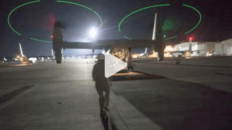 قوات المارينز تخلي مبنى السفارة الأمريكية في طرابلس