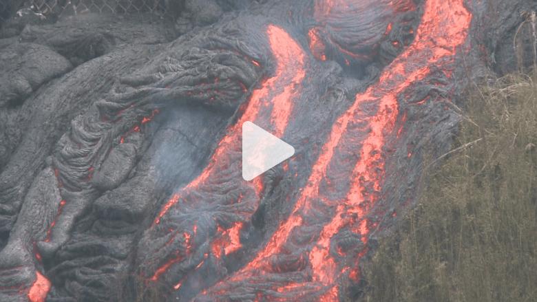 سيول من الحمم البركانية تدمر مناطق بهاواي