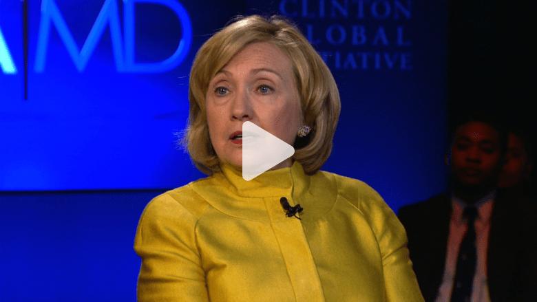 ماذا كان رأي هيلاري كلنتون بالغارات وخطاب أوباما في الجمعية العامة؟