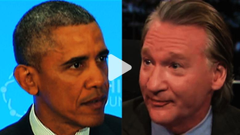 """بيل ماهر يتحدى أوباما لعدم تصنيف داعش بالتنظيم """"الإسلامي"""""""