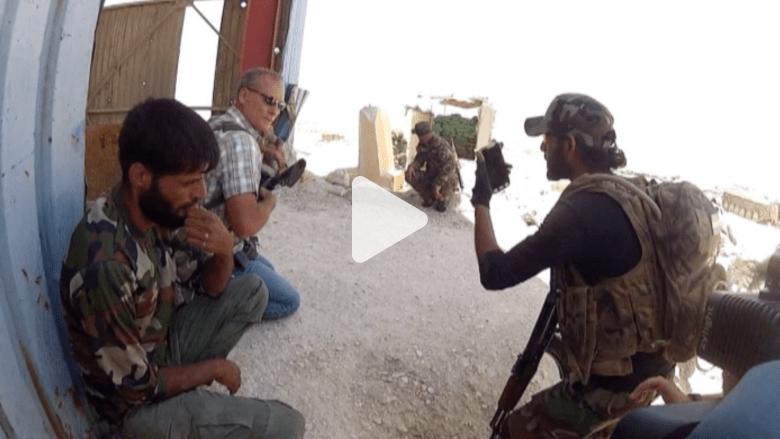 """حصرياً بالفيديو.. CNN على الخطوط الأمامية للحرب على """"داعش"""" بالعراق"""