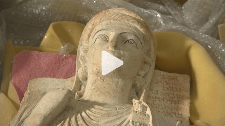 متطوعون وعلماء ينقذون تاريخ سوريا من داعش تحت النار