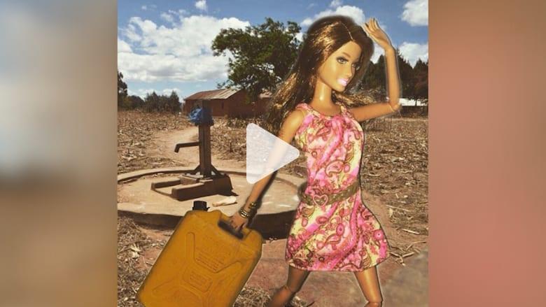 """حساب في إنستاغرام يستخدم """"باربي"""" للسخرية من """"التطوع بسذاجة"""" في أفريقيا"""