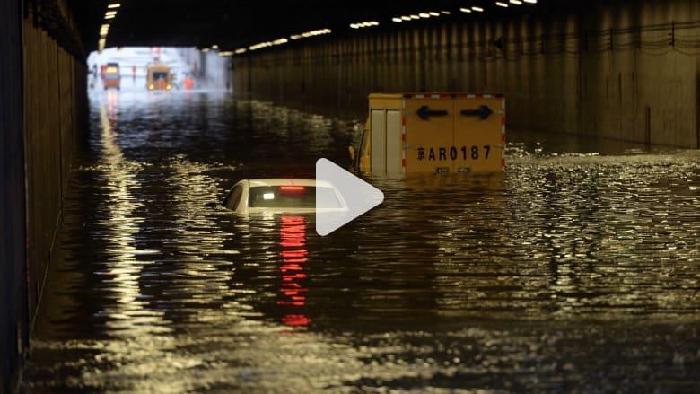الفيضانات تسلب أرواح 135 على الأقل وتلحق الضرر بـ8.9 مليون شخص في الصين