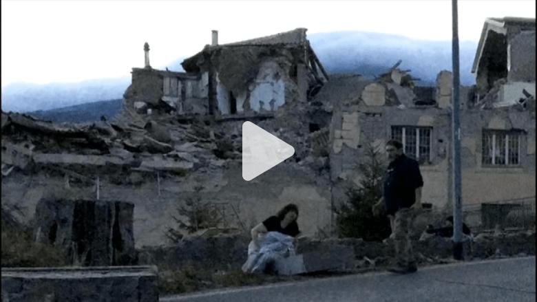 مقتل 120 شخصاً على الأقل إثر زلزال بقوة 6.2 ريختر هزّ إيطاليا