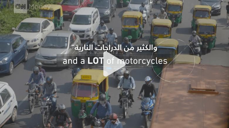 هذا المصنع يصدر دراجة نارية جديدة كل 18 ثانية!