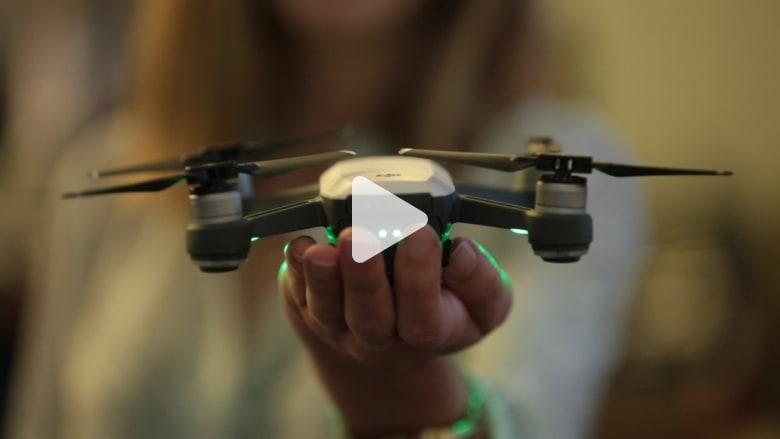 هذه أصغر وأظرف طائرة بدون طيار