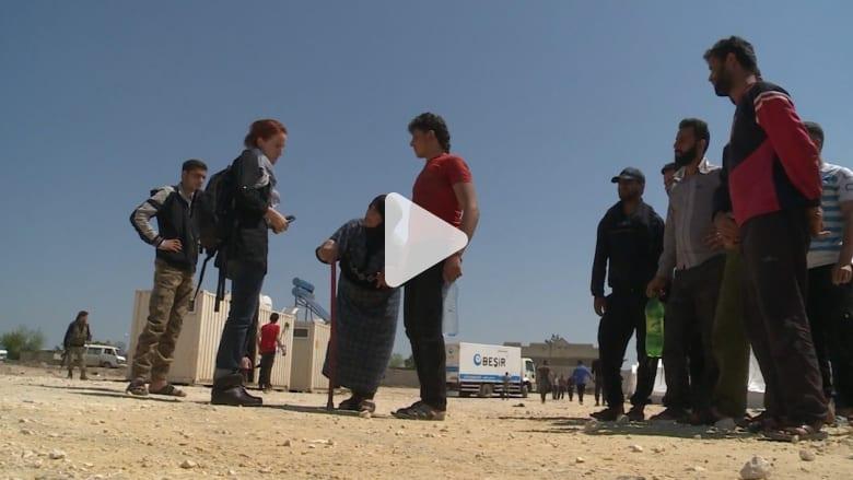 """حصرياً.. كاميرا CNN مع ناجين من """"الكيماوي"""" في دوما"""
