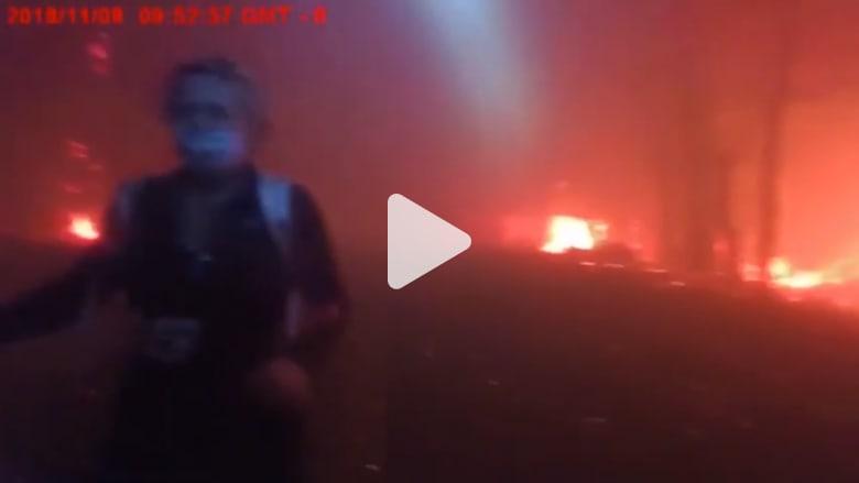 كاميرا مثبتة على جسد شرطي أمريكي تظهر اللحظة الأخيرة بحياته