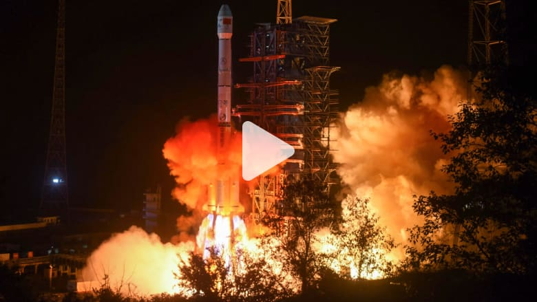 الصين.. لحظة إطلاق أول مسبار للهبوط على جانب القمر المعتم
