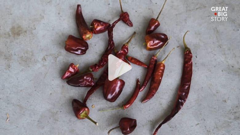 هل تجرؤ على تجربة  الطعام في مدينة الفلفل الصينية؟
