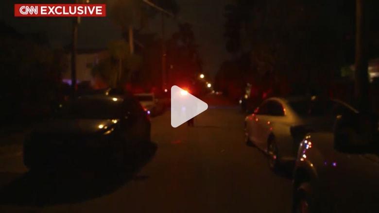 لحظة القبض على أحد مساعدي ترامب في ولاية فلوريدا