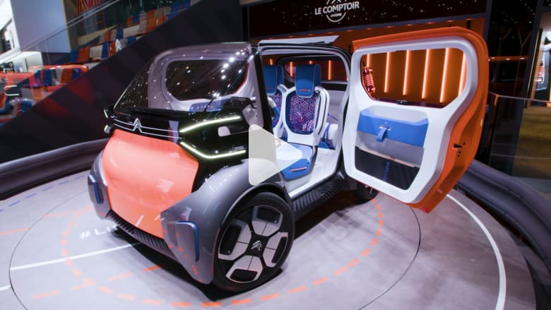 شاهد 4 من أكثر السيارات الكهربائية إثارة بمعرض جنيف للسيارات