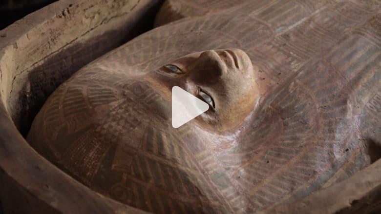 اكتشاف مقابر مصرية تعود لـ4500 عام