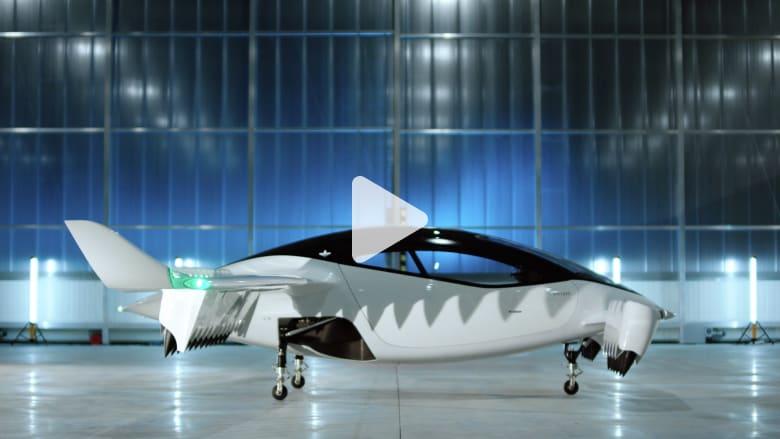 شاهد.. شركة ألمانية تكشف عن نموذج تاكسي طائر
