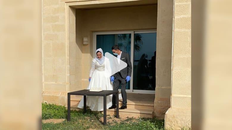 عريس أردني أجرى زفافه في الحجر الاحترازي: التنمر حول الفرحة إلى انزعاج