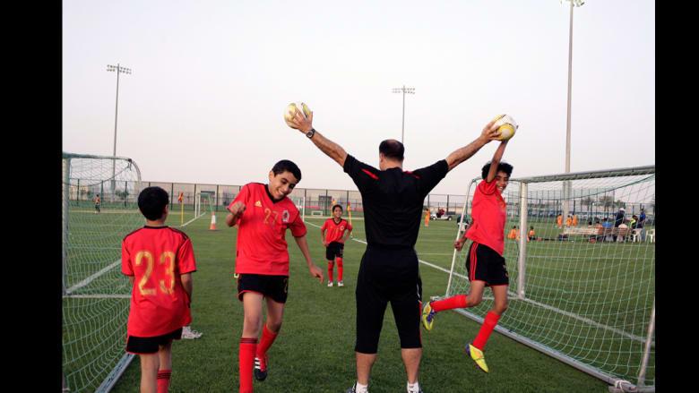 كيف تتدرب قطر لكأس العالم؟