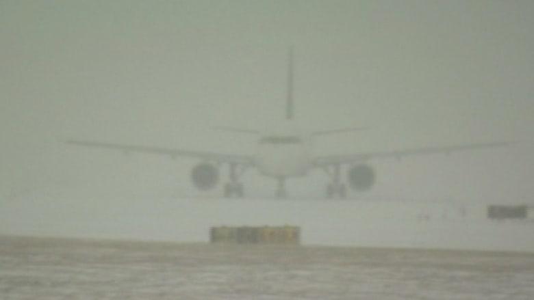 الثلوج تشل مطارات أمريكا