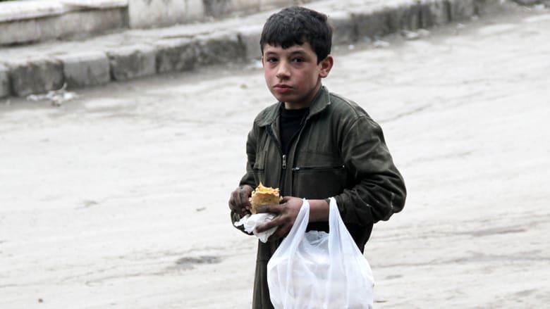 أطفال سوريا: نريد فكّ الحصار وليس المزيد من المساعدات