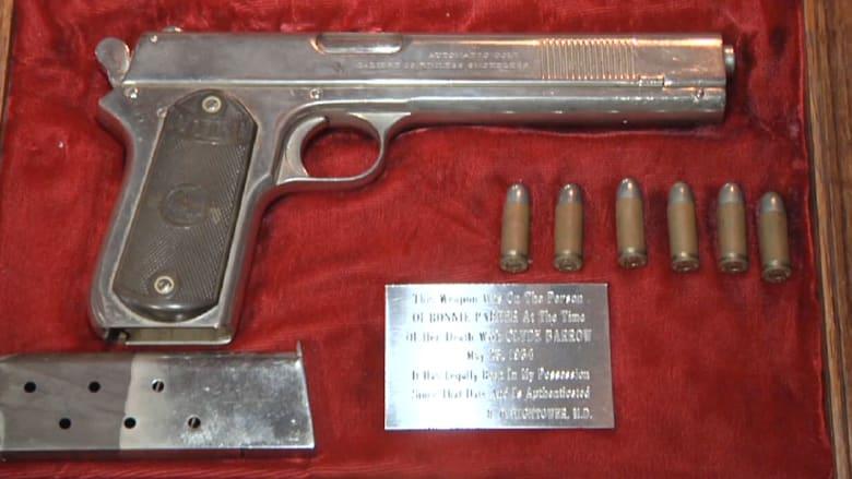 """مسدس """"ريا وسكينة الغرب"""" للبيع بمزاد علني"""