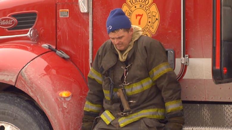 مصرع رجلي إطفاء أثناء إخماد حريق بأوهايو